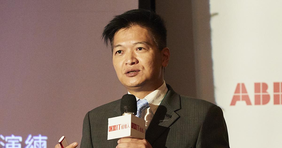 金山辦公軟件台企總經理陳豪欽