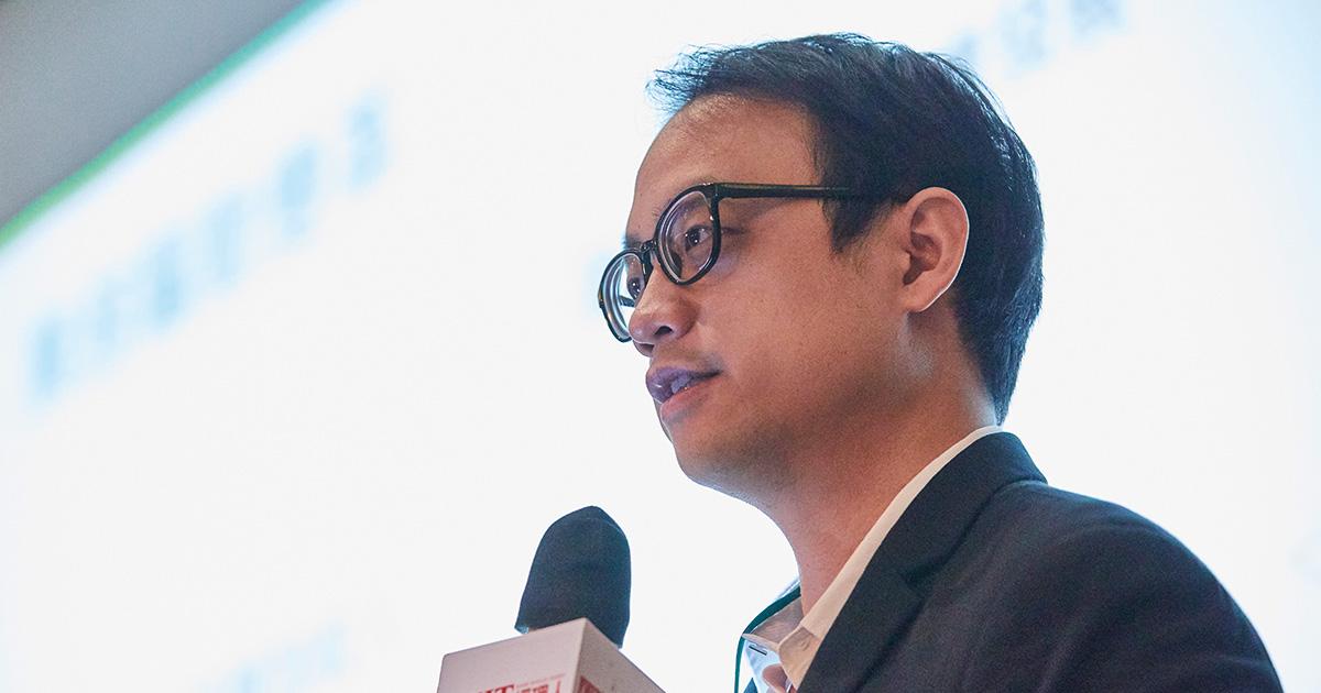 Nutanix台灣區資深技術顧問林宗誼