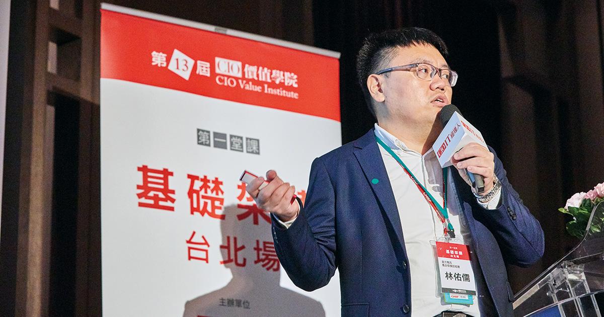 是方電訊產品發展部經理林佑儒