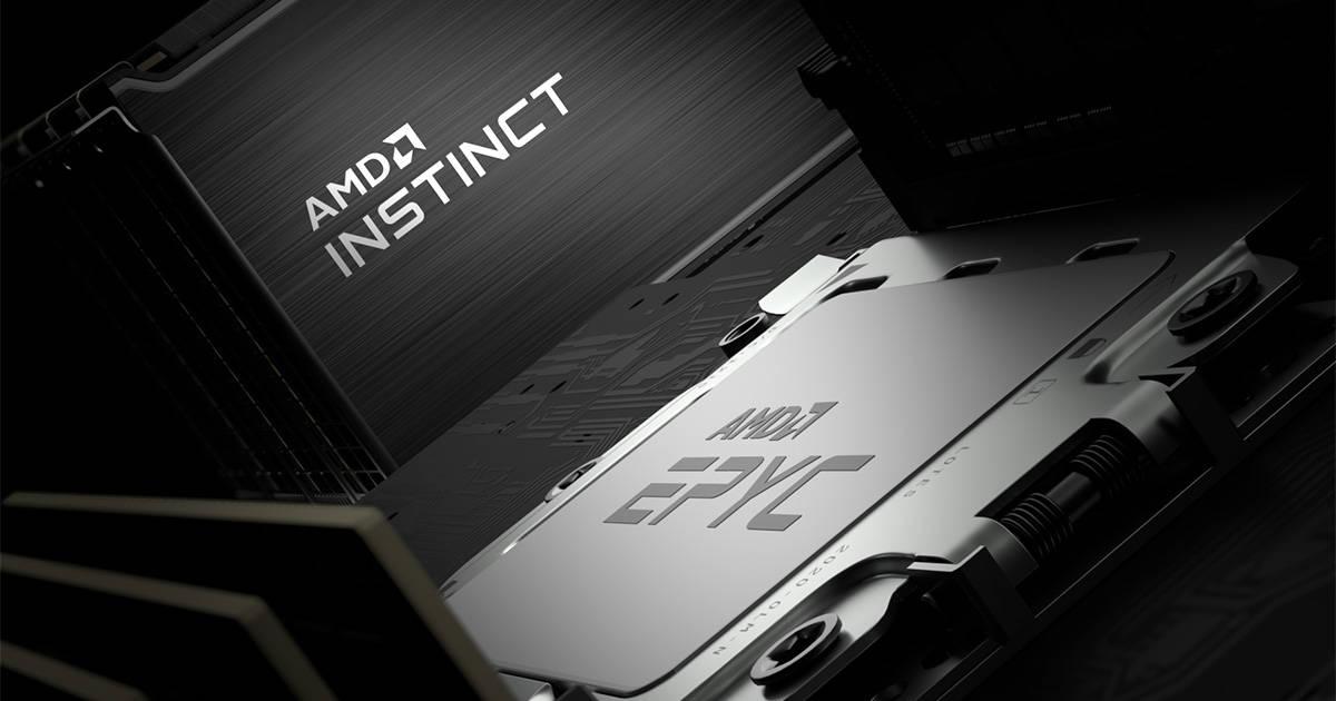 1200-AMD EPYC處理器與全新Instinct MI100加速器