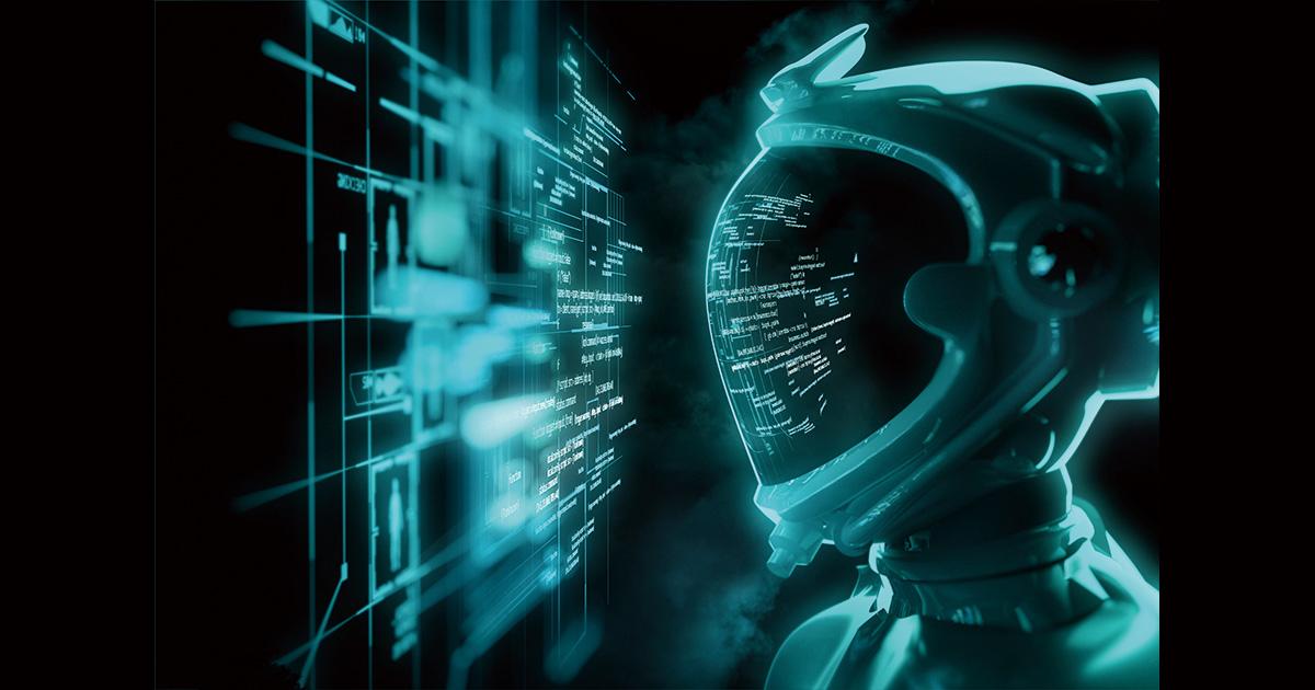 Futuristic Spaceman - Breaking The Code