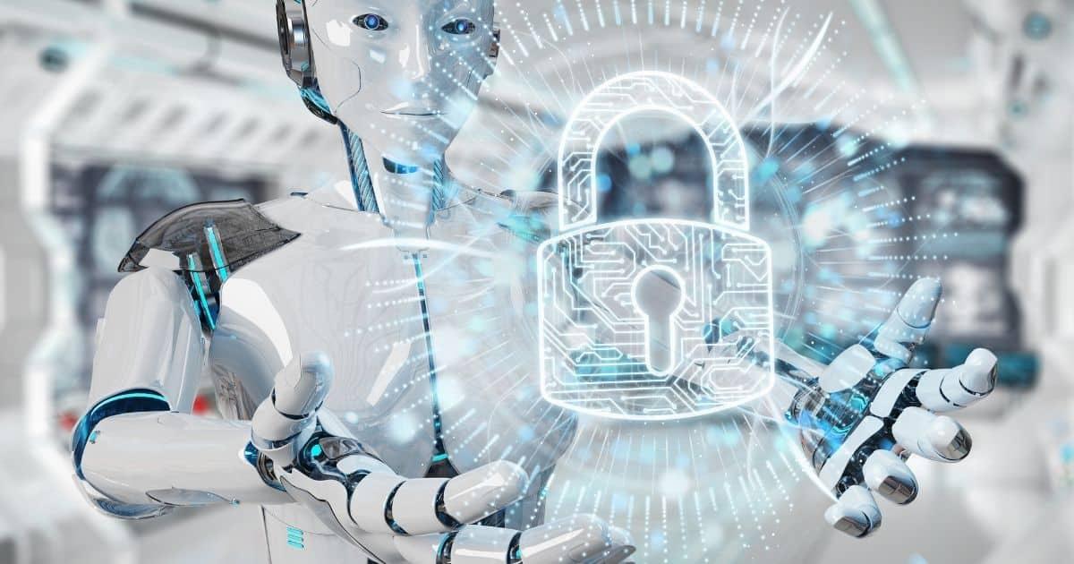 1200-white-robot-woman-using-law-paragraph-digital-hologram-3d-rendering